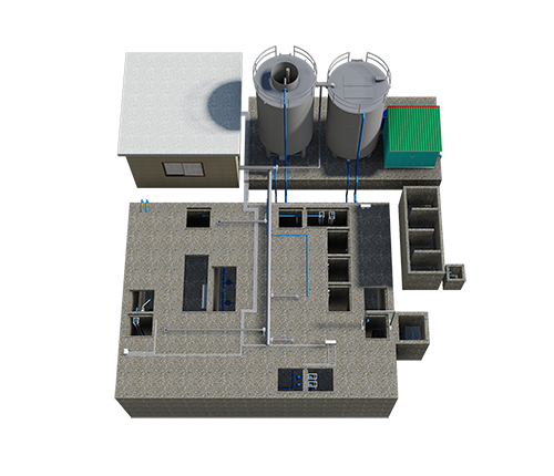 Hệ thống xử lý nước thải 400 -900m3
