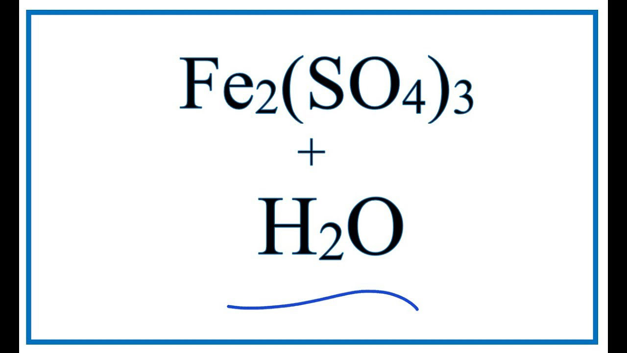Fe2(SO4)3.nH2O