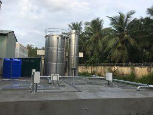 Hệ thống xử lý nước thải tại bệnh viện ĐK Gò Công Tây
