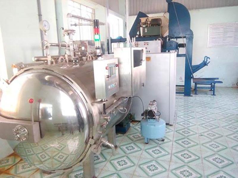 Hệ thống xử lý rác thải y tế Nihophawa đã cung cấp thi công và lắp đặt tại bệnh viện Cai Lậy
