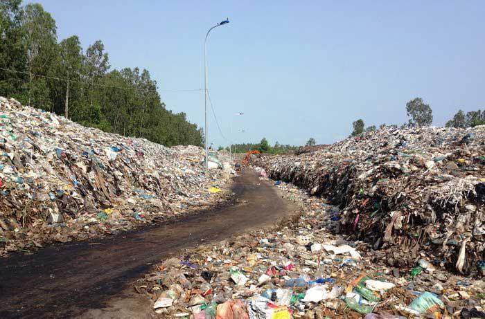 Bãi chôn lấp rác thải