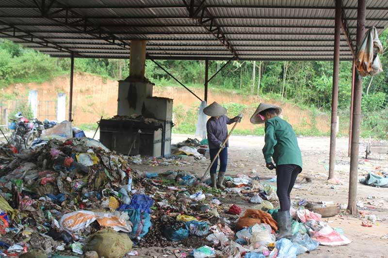 Xử lý rác thải truyền thống