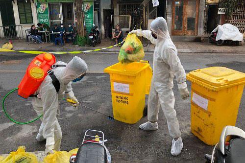 Xử lý chất thải y tế dịch Covid