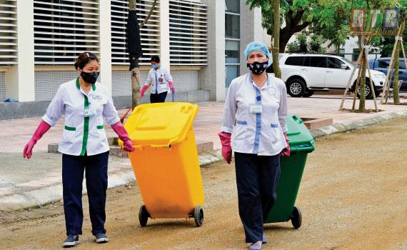 Quy định màu rác thải y sinh
