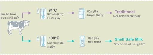 Quy trình thanh trùng sữa