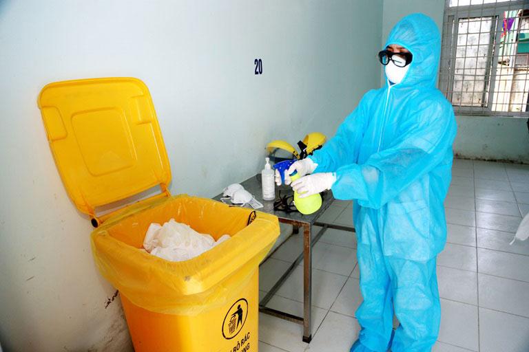 Xử lý chất thải lây nhiễm mùa COVID